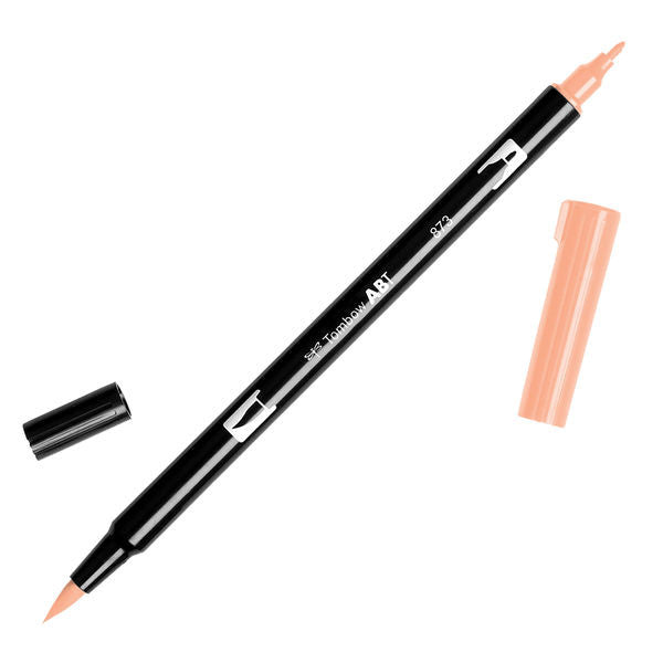 Tombow Dual Brush Pen - Coral #873