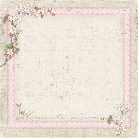 Maja Designs  Vintage Spring Basics - 1st of May Individual Sheets