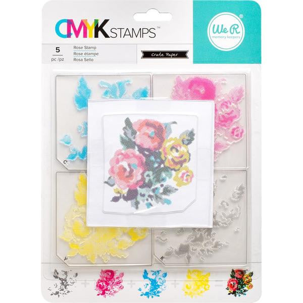 We R Memory Keepers, CMYK Stamps - Roses