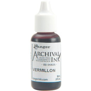 Ranger- Archival Ink Reinker  - Vermillion