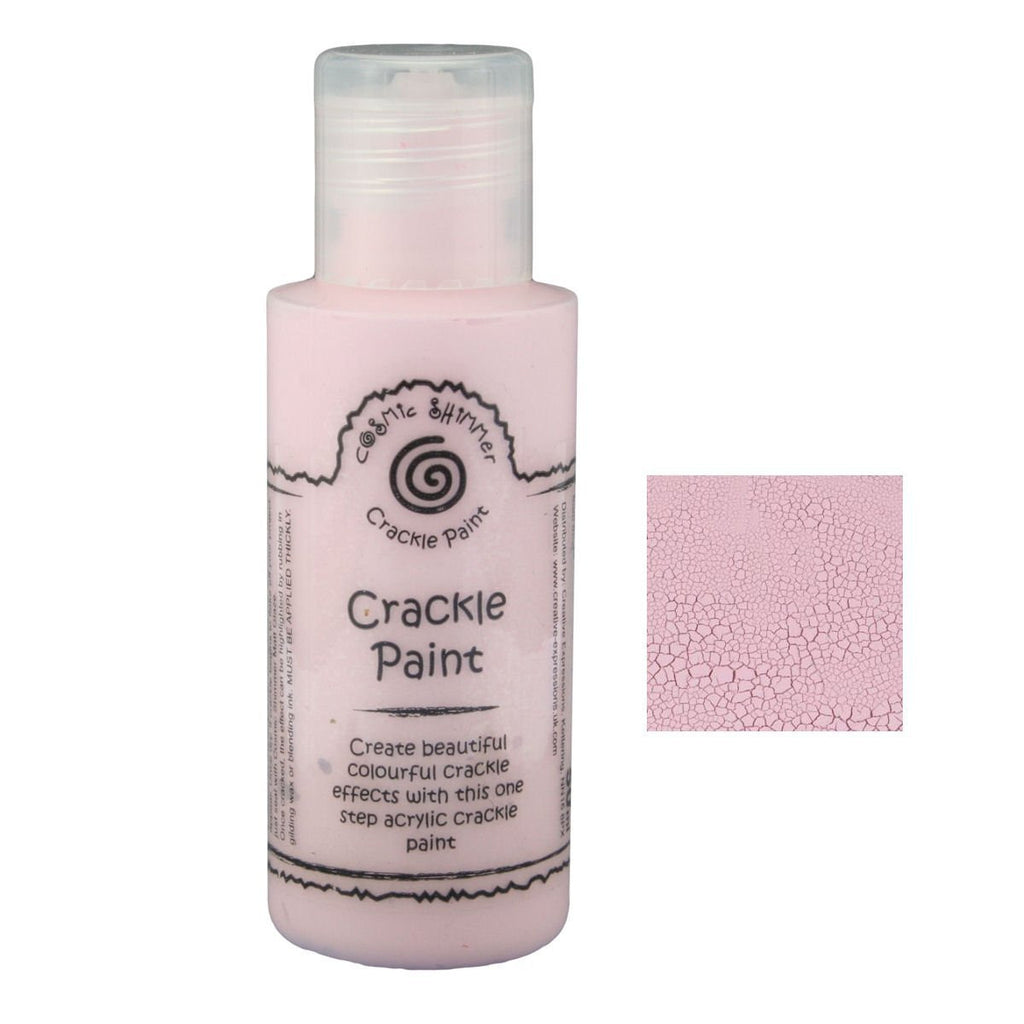 Cosmic Shimmer Crackle Paint - China Pink