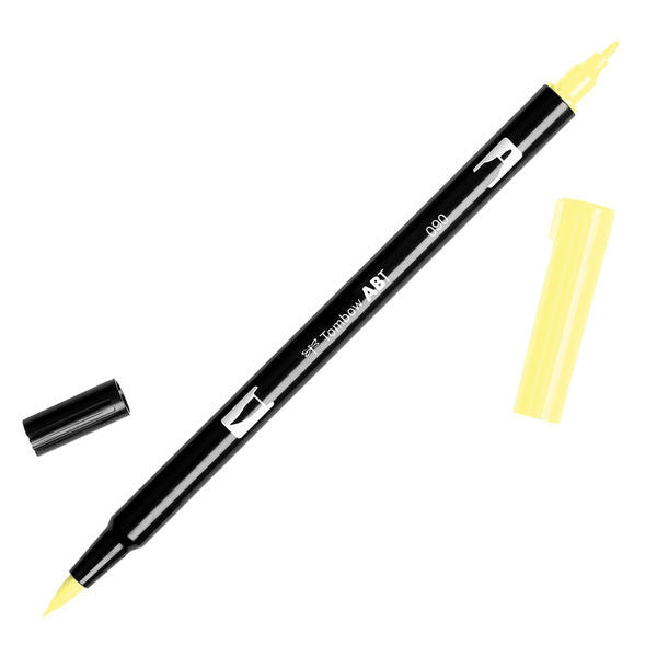 Tombow Dual Brush Pen - Baby Yellow #090
