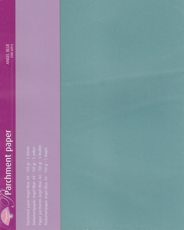 Pergamano - Parchment Paper - Angel Blue (5 sheets)