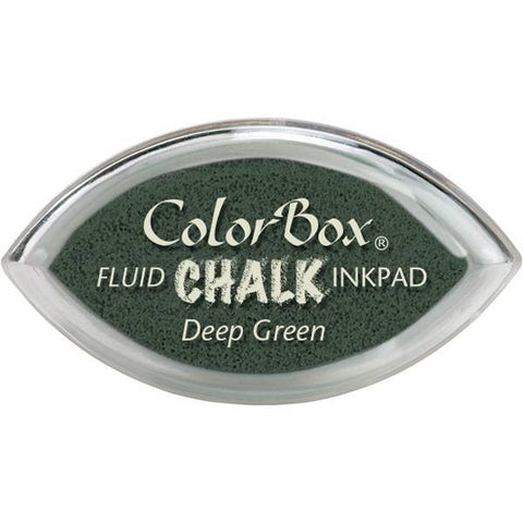 Clearsnap ColorBox Fluid Chalk Cat's Eye Ink Pad - Deep Green