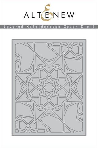 Altenew - Layered Kaleidoscope Cover Die B