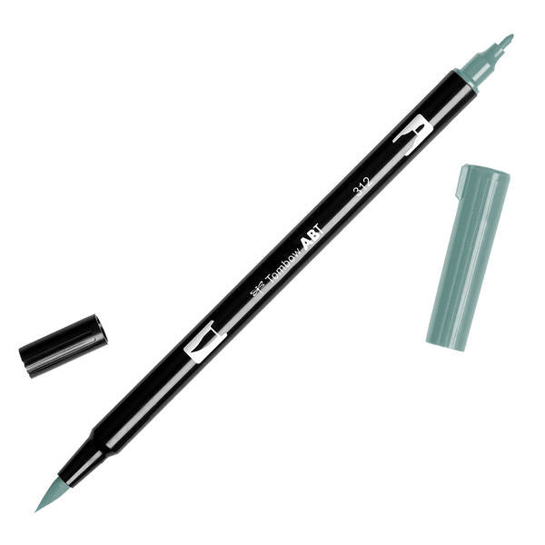 Tombow Dual Brush Pen - Holly Green #312