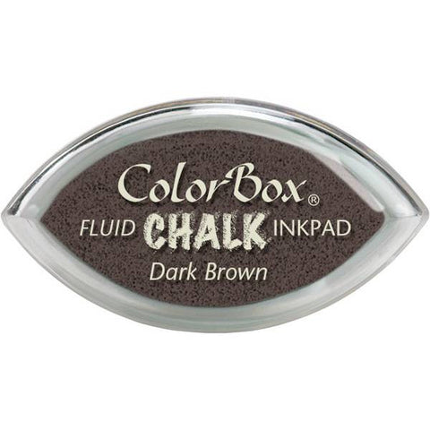 Clearsnap ColorBox Fluid Chalk Cat's Eye Ink Pad - Dark Brown
