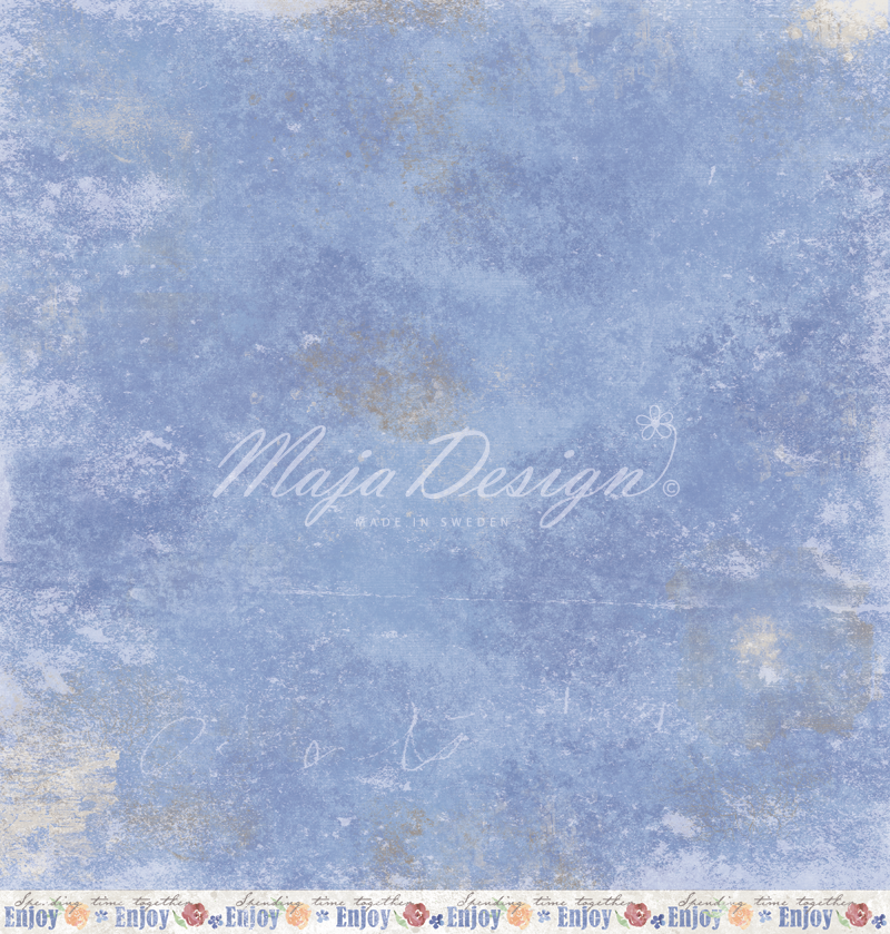 "Maja Designs ""NYHAVN"" Collection - Old Townhouses 12"" x 12"" double sided sheet"