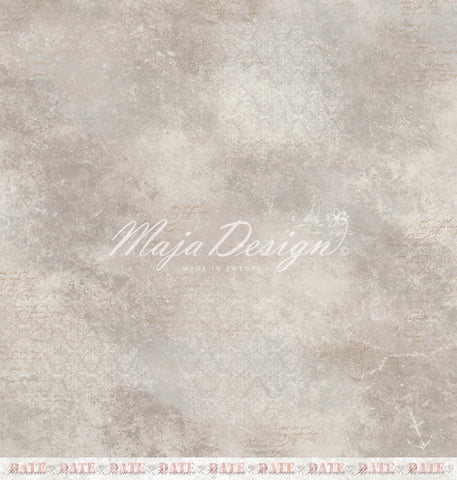 "Brand New Release - Limited Edition - Maja Designs ""NYHAVN"" Collection - Romantic Lunch 12"" x 12"" double sided sheet"