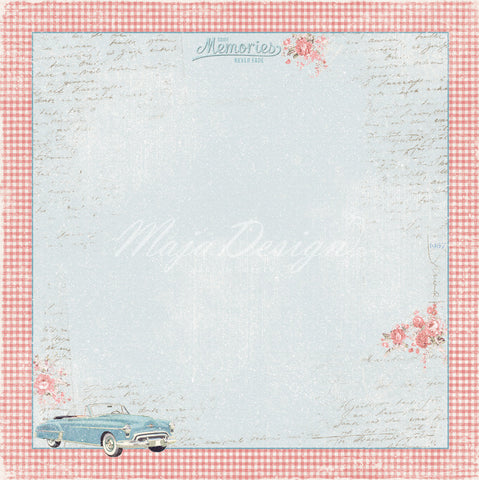 "Brand New Release Maja Designs - Summer Crush ""He Picks Her Up""  12"" x 12"" double sided sheet"