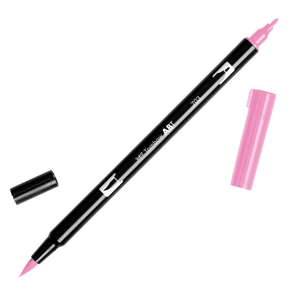 Tombow Dual Brush Pen - Pink Rose #703
