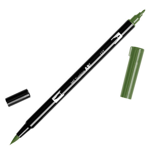 Tombow Dual Brush Pen - Dark Jade #177