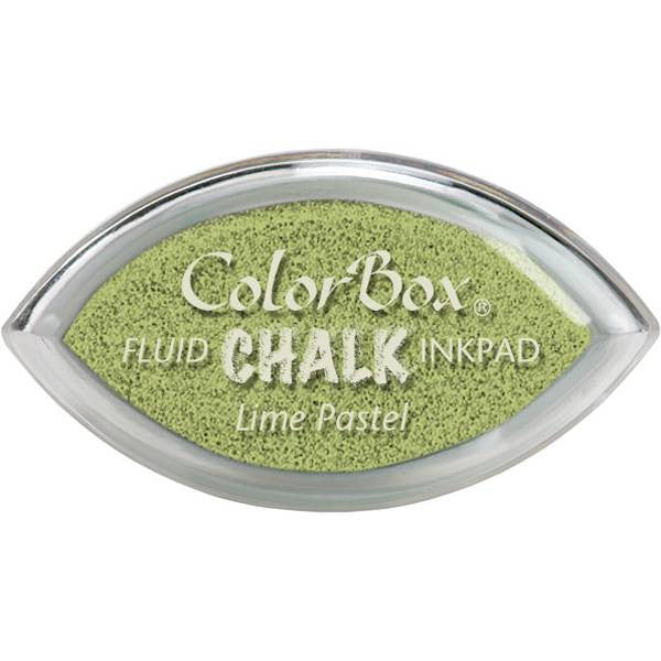 Clearsnap ColorBox Fluid Chalk Cat's Eye Ink Pad - Lime Pastel