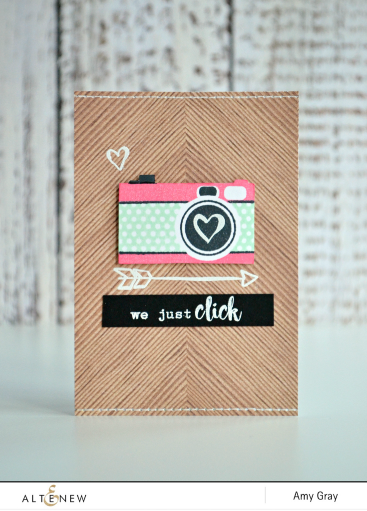 "Altenew, Clear Photopolymer Stamp Set - Say Cheese (coordinates with ""Say Cheese"" Dies)"