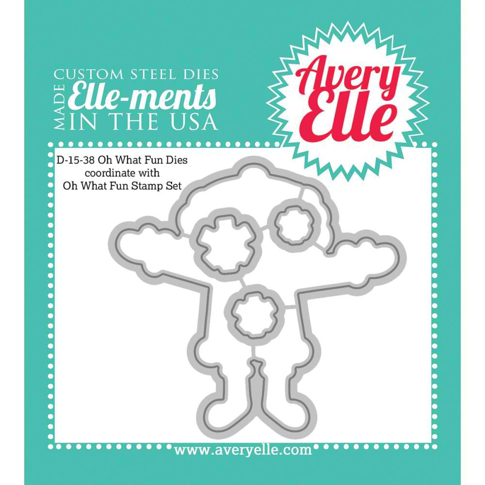 Avery Elle Elle-Ments Dies Set - Oh What Fun