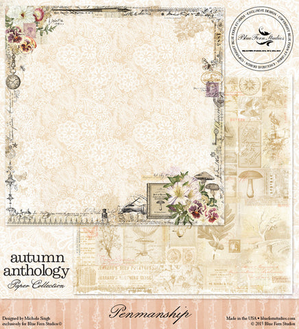 Blue Fern Studios - Autumn Anthology: Penmanship