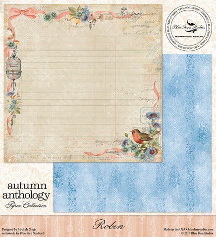 Blue Fern Studios - Autumn Anthology: Robin