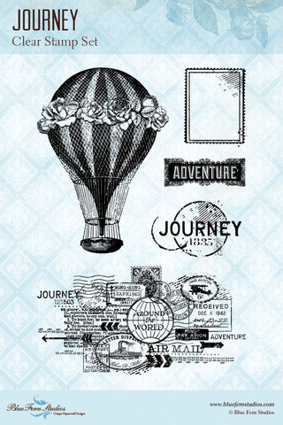 Blue Fern Studios - Stamp - Journey