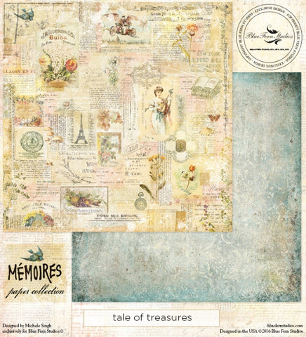Blue Fern Studios - Memoires - Tale of Treasures