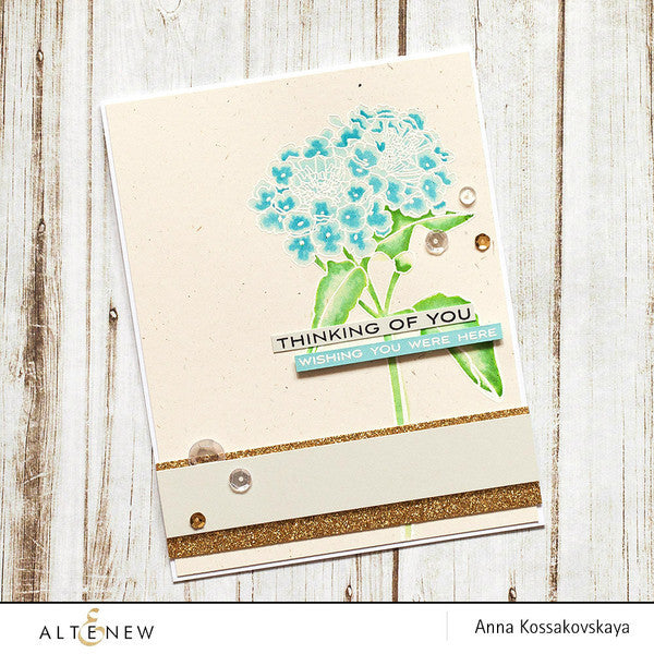 Altenew - Beautiful Lady Clear Stamp Set