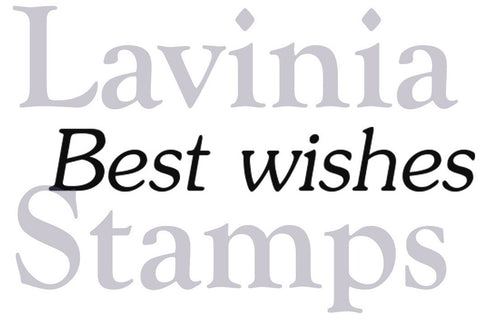 Lavinia Stamps - Words and Verses - Best Wishes