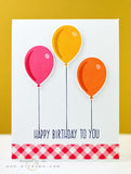 Altenew - Birthday Greetings Clear Stamp Set