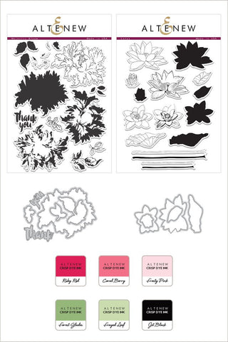 Altenew - Stamp & Die Bundle - Elegant Floral