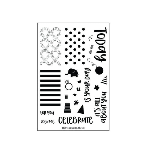 Concord & 9th - Stamp Set - Celebrations