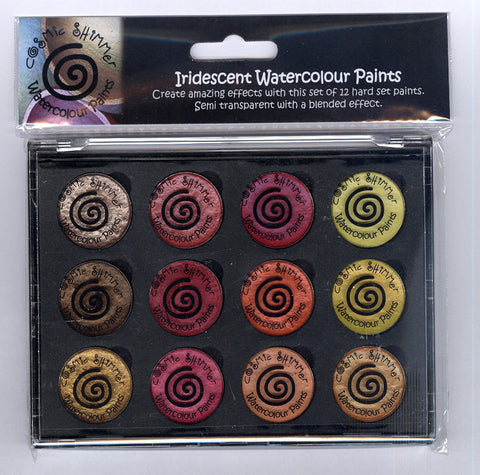 ***New Item*** Cosmic Shimmer - Iridescent Watercolour Pallet Set - Autumn Sunrise