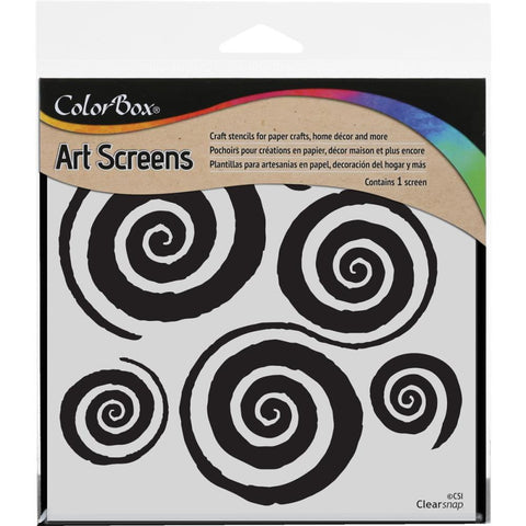 "Clearsnap ColorBox Screens 6""x6"" - Mesmerized Stencil"