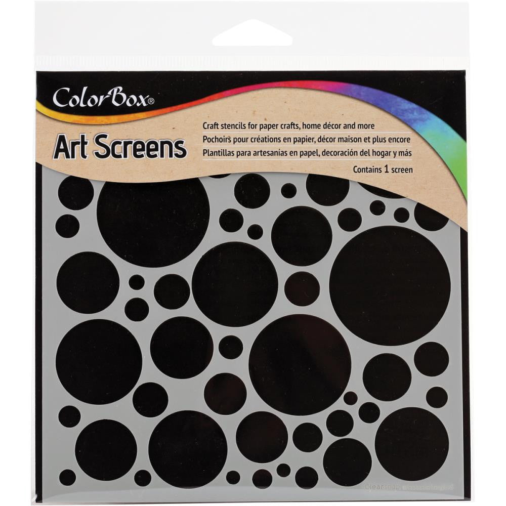 "Clearsnap ColorBox Screens 6""x6"" - Rounded Stencil"