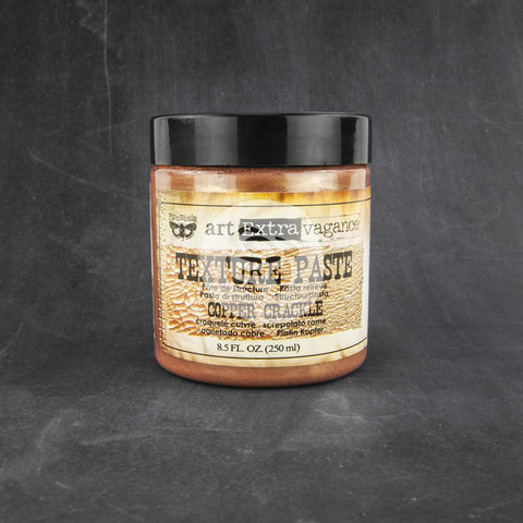 ***Pre Order*** Prima - Art Extravagance - Texture Paste (Crackle) - Copper