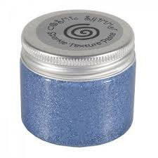 Cosmic Shimmer Texture Paste - from Sue Wilson Designs - Sparkle - Periwinkle 50ml Jar