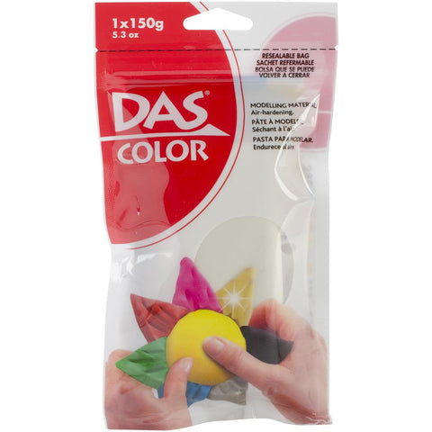 DAS Color Air Dry Clay 5.3 oz - White