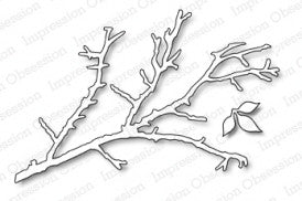 Impression Obsession - Bare Branch Die Set