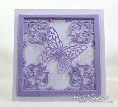 "Impression Obsession - ""Butterfly Block"" Dies"