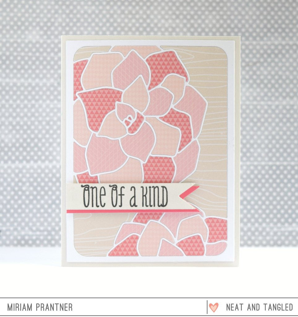 Neat & Tangled - Nice & Neat Dies - Succulent Cover Plate