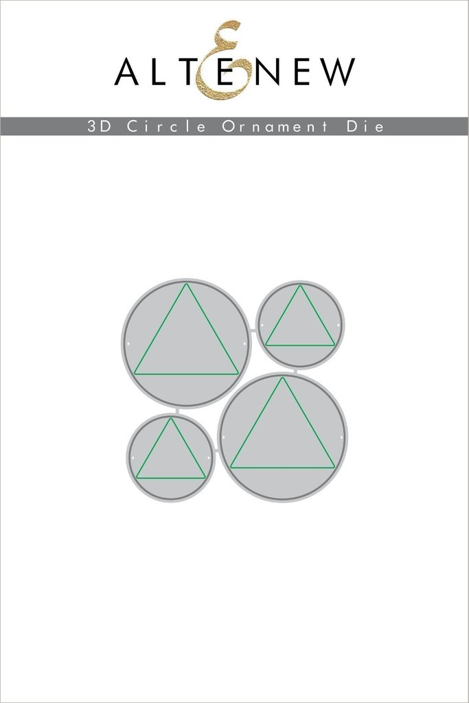 Altenew 3D Circle Ornament Die Set