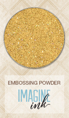 Blue Fern Studios - Imagine Ink Embossing Powder - 14 Karat