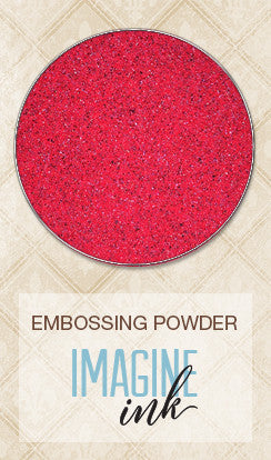 Blue Fern Studios - Imagine Ink Embossing Powder - Ruby