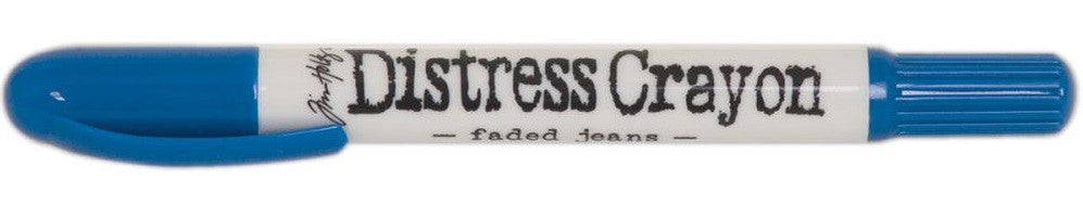 Ranger - Tim Holtz Distress Crayons - Faded Jeans