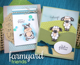 "Newton's Nook Designs 4"" x 6"" Clear Stamps - Farm Yard Friends"