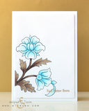 Altenew - Floral Motifs Stamp Set (coordinates with Floral Motifs Die set)