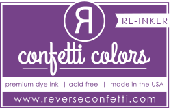 Reverse Confetti - Dye Re-Inker - Grape Soda