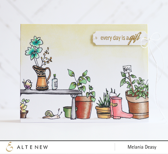 "Altenew - 6"" x 8"" Stamp Set - Garden Grow"