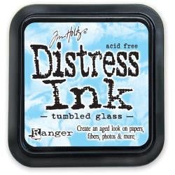 TD Ranger Distress Ink Tumbled Glass