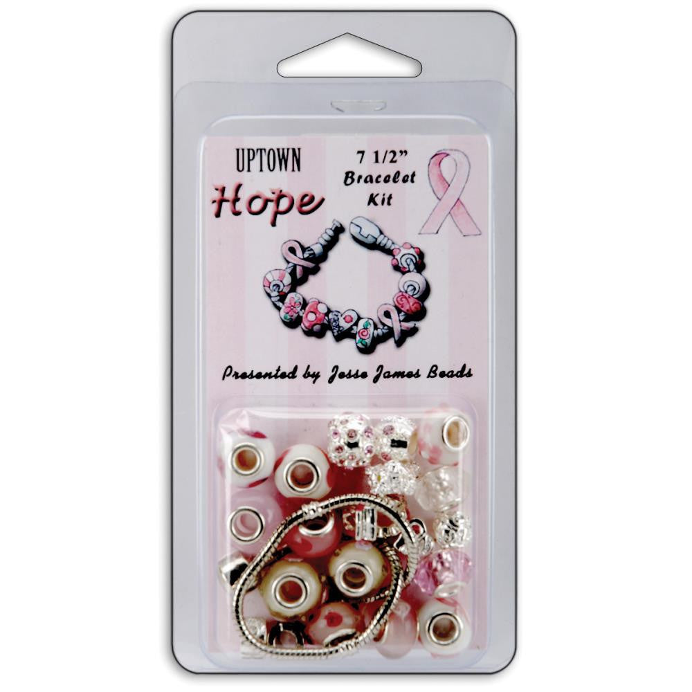 Jesse James Uptown Breast Cancer Awareness Bracelet Kit - 7 1/2""