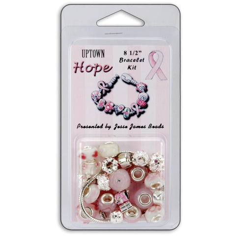 Jesse James Uptown Breast Cancer Awareness Bracelet Kit - 8 1/2""