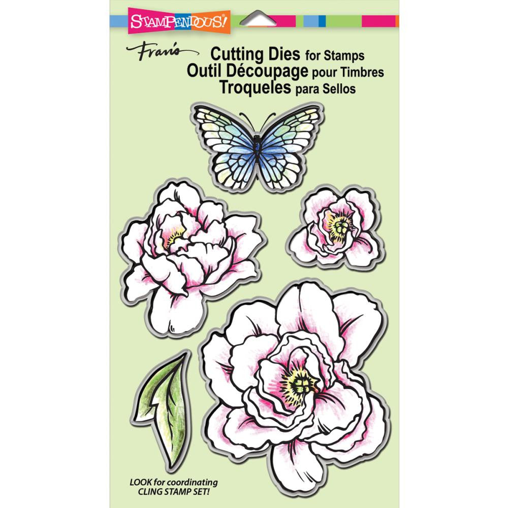 Stampendous Wafer Dies - Lovely Garden Set/5 (this goes with Stampendous Lovely Garden Stamp)