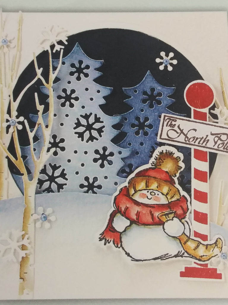 Penny Black - Creative Dies - North Pole Cut Out